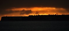 Sunrise over Fort George. (richbriggs28. Love being a grandad :)) Tags: fortgeorge scotland sunrise richbriggs28 morayfirth blackisle chanonrypoint