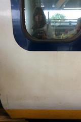 Eurostaring... (domit) Tags: eurostar london uk domit train reflection window