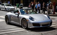 (seua_yai) Tags: sanfrancisco california street people urban usa car america automobile downtown candid wheels 911 thecity turbo porsche bayarea northamerica germancar sportscar lifeinthestreet sanfrancisco2016