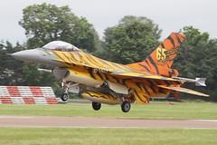 (scobie56) Tags: f16am fa77 31 squadron belgian air force component kleine brogel base nato tiger riat fairford 2016 canon 7d