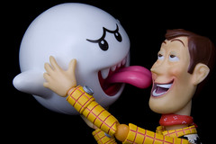 Lick (Raiden8705) Tags: woody revoltech ghost mario toystory