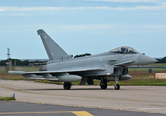 Echo (QRA) (np1991) Tags: royal air force raf lossiemouth lossie moray scotland united kingdom uk nikon digital slr dslr d7100 camera sigma 50500mm 50 500 50500 bigma lens aviation planes aircraft eurofighter typhoon fgr4 iiac ii ac 2 two army cooperation squadron sqn shiny2 shiny quick reaction alert qra q scramble tango qt live weapons advanced short range missile asraam medium amraam