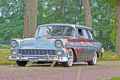 Chevrolet 210 Wagon Customized 1956* (9285) (Le Photiste) Tags: sexy wow interesting thenetherlands photographers cc clay customized 1956 oldcars soe stationwagon fairplay giveme5 autofocus photomix ineffable prophoto friendsforever finegold bloodsweatandgears greatphotographers themachines lovelyshot americanluxurycar gearheads digitalcreations slowride harleyearl carscarscars beautifulcapture damncoolphotographers myfriendspictures artisticimpressions anticando digifotopro afeastformyeyes alltypesoftransport iqimagequality allkindsoftransport yourbestoftoday saariysqualitypictures hairygitselite lovelyflickr vividstriking blinkagain am6196 americanstationwagon canonflickraward theredgroup transportofallkinds photographicworld fandevoitures aphotographersview thepitstopshop thelooklevel1red oldstyleweekendfoxwolde showcaseimages planetearthbackintheday mastersofcreativephotography creativeimpuls planetearthtransport vigilantphotographersunitelevel1 hotrodcarart wheelsanythingthatrolls cazadoresdeimgenes livingwithmultiplesclerosisms infinitexposure chevroletdivisionofgeneralmotorsllcdetroitusa sidecode1 foxwoldethenetherlands djangosmaster bestpeopleschoice chevroletbelaircustomizedstationwagon chevroletbelairv8series2400model24195doorbeauvillestationwagon