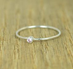 Tiny Pink Tourmaline (alaridesign) Tags: tiny pink tourmaline ring stacking sterling mothers october birthstone by alaridesign