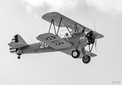 bucket list... (Stu Bo.. tks for 8 million views) Tags: aircraft airplane airshow biplane vintageairplane bucketlist flight offtheground beautiful blackandwhite blackwhitephotos bw sbimageworks lookup life hangingoutwiththefamily happiness peace people outdoor usa engine