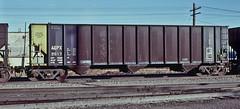AEPX 2617 steel coal hopper-Denver, Colorado. (Wheatking2011) Tags: aepx steel coal hopper manual doors american electric power service corporation rio grande north yard denver colorado 1980