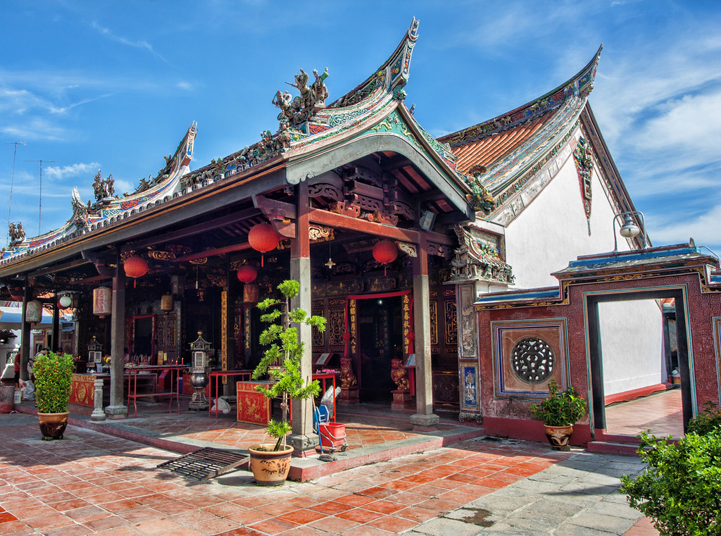 The Cheng Hoon Teng temple