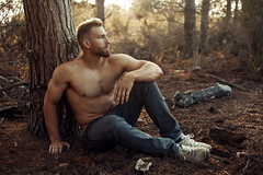 (bernardmesa1) Tags: approved canon 5d mkii 50mm f32 portrait model male malemodel guy man muscle fit inshape bodybuilder lompoc california 805 natural light