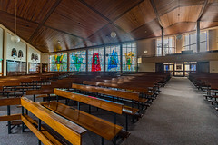 INTERIOR SHOTS OF SAINT PATRICKS CHURCH [FOR MY SECOND SESSION I HAD SOME FUN USING A 15mm LENS]-119919 (infomatique) Tags: galway interior church saintpatricks voigtlnder15mm ultrawideangle lens williammurphy sony a7rm2 ireland infomatique zozimuz fotonique