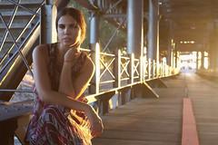 Sole 7 (Jezabel Galn) Tags: modelo model mujer woman huelva ra muelle del tinto luz light jezabel sky canon rflex
