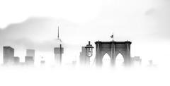 Brooklyn Bridge 4 (rayordanov) Tags: brooklynbridge manhattan bw newyorkcity nyc