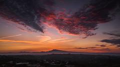 Mt. Ventoux on Fire. (MaximilianSb) Tags: a6000 sony sonyalpha selp18105g glens france provence apsc landscape longexposure landschaft mountventoux mountain sunrise clouds alpha6000 ilce6000