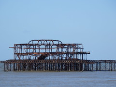 The West Pier, Brighton (photphobia) Tags: brighton eastsussex southeastengland southeast coast holiday beach oldtown oldwivestale outdoor outside pier westpier ruins ruin