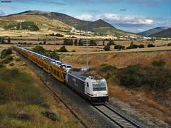 253 (firedmanager) Tags: renfe railtransport renfemercancías tren train trena ferrocarril freighttrain locomotora locomotive 253 bombardier bombardiertraxx semat navarra