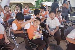 Entrega de Equipos de Cómputo, Material Bibliográfico, Bibliotecas de Aula y Banderazo de Salida de Mobiliario para Instituciones Educativas del Nivel Básico