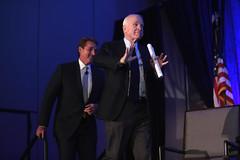 Jeff Flake & John McCain (Gage Skidmore) Tags: john mccain jeff flake united states senate senator arizona manufacturing summit luncheon 2016 biltmore phoenix council chamber