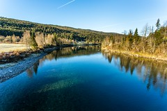 Ranelva Nordland Norway (Einar Schioth) Tags: river trees tree water stillness day canon clouds cloud coast shore nationalgeographic ngc norway norge landscape photo picture outdoor frost nature nordland einarschioth