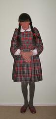 Winter School Uniform (marcia2015au) Tags: petticoatpunishment sissy crossdresser crossdressing dressing schoolgirl uniform littlegirl adultlittlegirl schooluniform humiliation ridicule exposure
