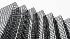 Lines in the Sky - Trump Tower NY (gutan700) Tags: trump tower manhattan newyork city blackwhite biancoenero d800e 70200mmvr2f28 building 5fth ave office nikon nikontravel nikonphotography