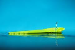 Walk on the spon (jordigangolellssabata) Tags: splash cuchara liquid drops strobist highspeed