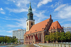 Germany-00068 - St. Mary's Church (archer10 (Dennis) 83M Views) Tags: germany berlin building sony a6300 ilce6300 18200mm 1650mm mirrorless free freepicture archer10 dennis jarvis dennisgjarvis dennisjarvis iamcanadian novascotia canada stmarys church globus tour