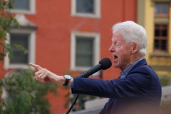 Bill Clinton (haydenschiff) Tags: 2016 cincinnati washingtonpark otr hillary clinton rally president billclinton