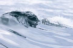 Wave (Scriblerus) Tags: wave reflection water ocean scotland sea spray