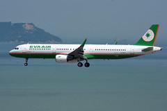 EVA Air B-16211 (Howard_Pulling) Tags: hongkong airport hk china howardpulling nikon d7200 camera picture transport asia