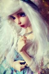Nix. (Mrsbeccabear) Tags: ball doll 14 bjd fairyland jointed mnf minifee nanuri