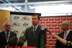 IMGL7728 (CEBIT AUSTRALIA) Tags: chris for michael justice doug australian smith crime summit dawson commission minister keenan 2014 govinnovate crimtrac