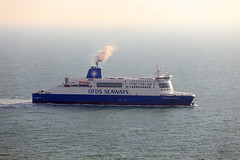 SMOKING BOAT (NIGHTSHIFTWORKER) Tags: ferry dover englishchannel dfds dunkerqueseaways