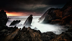 The Rock (FredConcha) Tags: sunset portugal rock nikon caboraso fredconcha