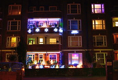 London Walk Dec 14_012 (jjay69) Tags: city uk winter england urban london festive walking nw christmaslights daytime xmaslights fairylights northlondon xmasdecorations