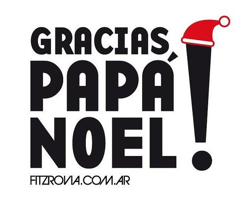 Gracias PAPÁ NOEL en Tienda Fitzrovia.