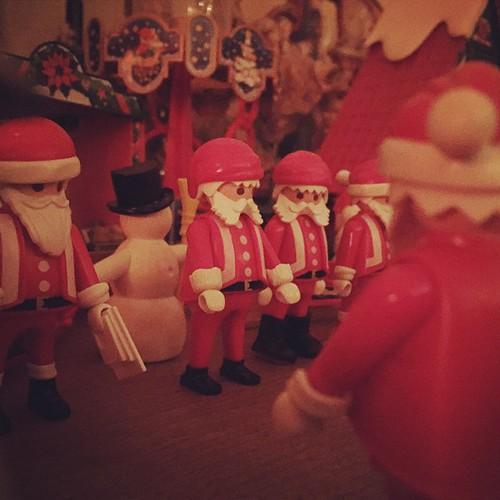 Weihnachtsdeko Xmas.Weihnachtsmarkt Mit Playmobil Weihnachtsdeko Playmo Playmobil