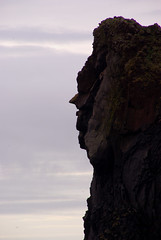 Profile view (Eric Vernier) Tags: cliff face iceland eric profile nofilter anthropomorphic vernier ericvernier