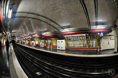 Marcadet Poissonniers (c'estlavie!) Tags: old paris france underground subway nikon metro métro fisheye ratp seconde parisunderground metroparisien métroparisien greatphotographers flickraward marcadetpoissonniers nikonflickraward flickrunitedaward jesuisparis