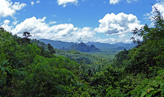 Khao Sok View (brentflynn76) Tags: trees mountains green landscape thailand nationalpark scenery view scenic jungle scape khao sok