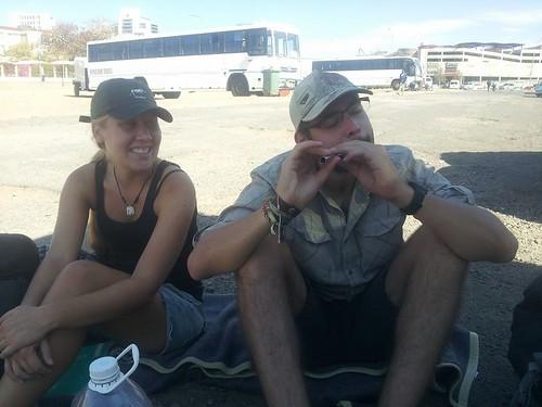 Emily et Nicolas, Windhoek, Namibie