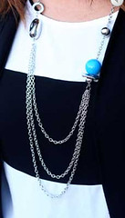Glimpse of Malibu Blue Necklace K1 P2710-1