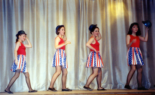 1994 Dick Whittington 14 (from left Sally Crowe,x,Juliet Birkby,Louise Loxley)
