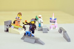 The Skate Kids (riderxdesign) Tags: movie lego bricks kitty skate skater minifig sk8 moc emmet afol minifigures afob