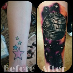 Deathstar/Space cover up