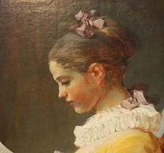 Young Girl Reading, ca.1770 (detail) (ktmqi) Tags: girl painting book 18thcentury nationalgalleryofart frenchart younggirlreading jeanhonorfragonard