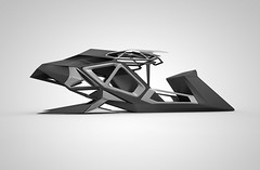 snowmobile_wip (Levente Gyulai architectural designer) Tags: snow architecture design automobile object transport architect generative vehicle snowmobile parametric