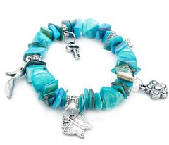 Glimpse of Malibu Blue Bracelet K1 P9510A-3