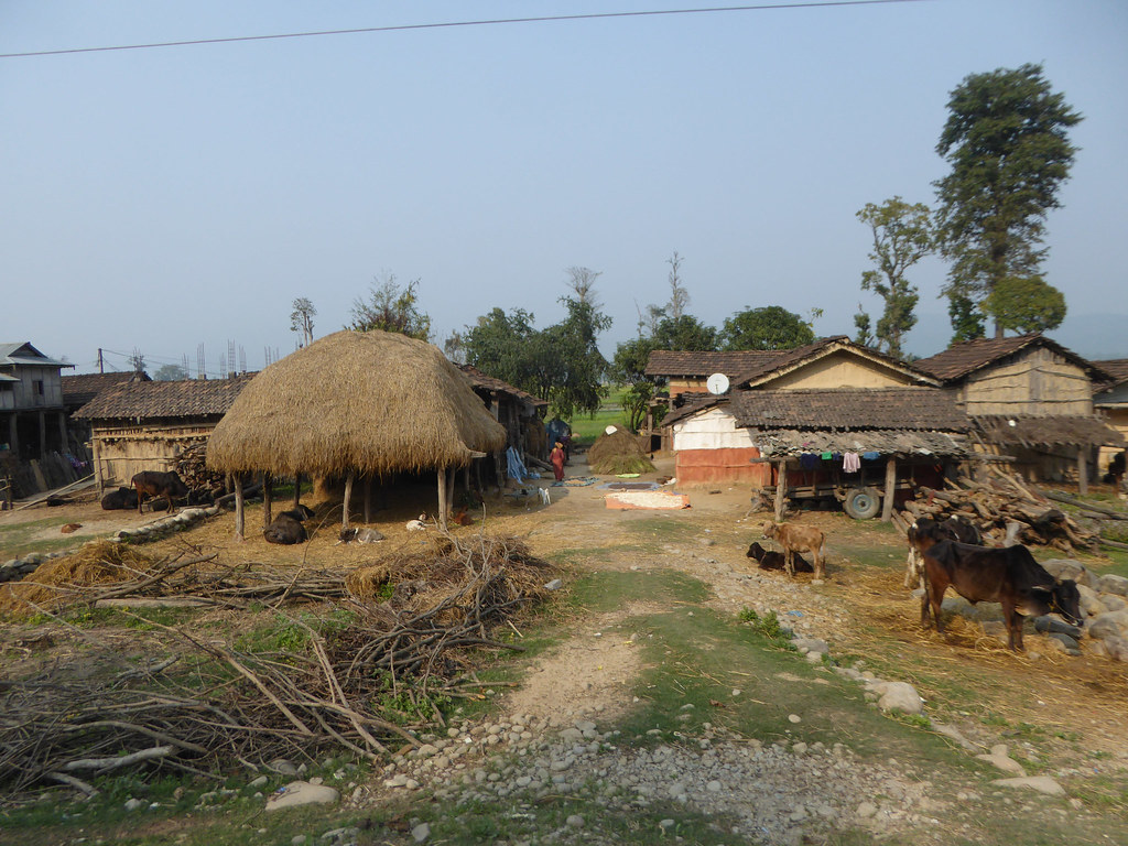 Nepali Village Houses