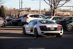 Coupe (Hunter J. G. Frim Photography) Tags: white colorado audi coupe supercar v10 r8 audir8v10