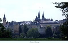 Die Luxemburger Altstadt (Lautergold) Tags: luxembourg unescoworldheritage luxemburg kirchberg weltkulturerbe letzeburg troisglands