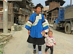Mu village (Linda DV (back, catching up)) Tags: china travel people geotagged culture clothes guizhou mu ethnic minority dong ethnology 2014 benli geomapped minorité minderheid baoni lindadevolder rongjiangcounty picmonkey:app=editor